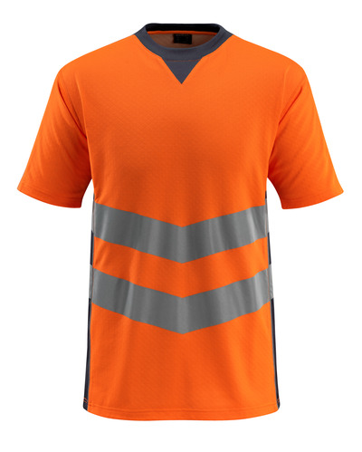 MASCOT® Sandwell - hi-vis orange/dark navy - T-shirt, modern fit, class 2