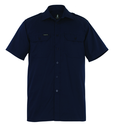 MASCOT® Savannah - navy - Shirt, short sleeved, classic fit