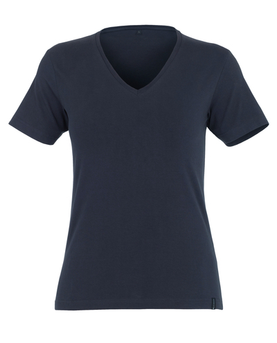 MASCOT® Skyros - dark navy* - T-shirt, ladies' fit, V-neck
