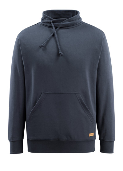 MASCOT® Soho - dark navy - Sweatshirt with high collar, modern fit