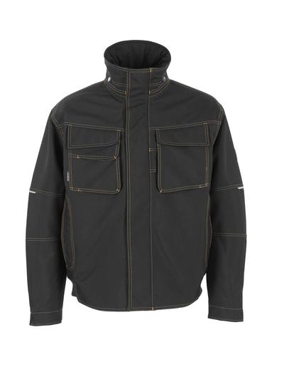 MASCOT® Tavira - black - Pilot Jacket with quilted lining, waterproof MASCOTEX®