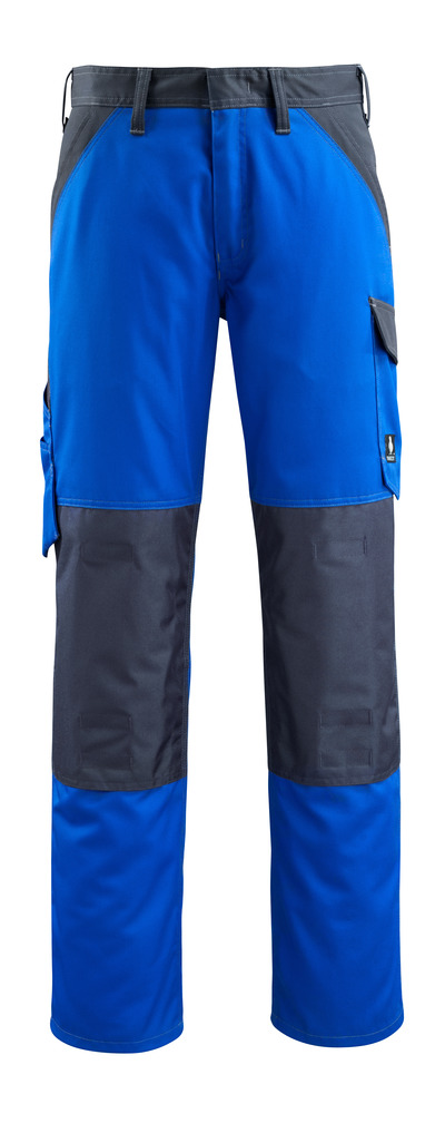 MASCOT® Temora - royal/dark navy - Trousers with kneepad pockets, lightweight