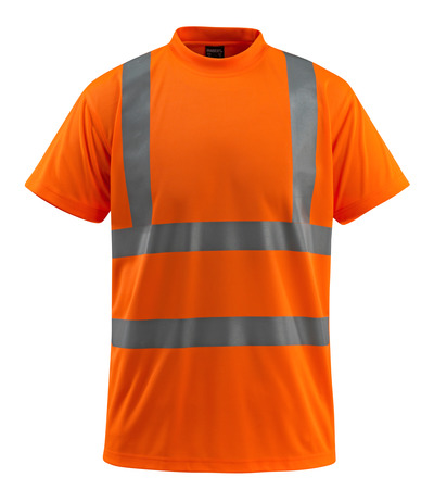 MASCOT® Townsville - hi-vis orange - T-shirt, classic fit, class 2