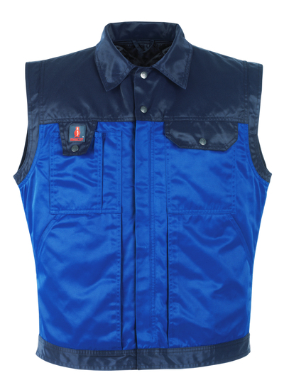 MASCOT® Trento - royal/navy - Winter Gilet with detachable quilted vest, water-repellent