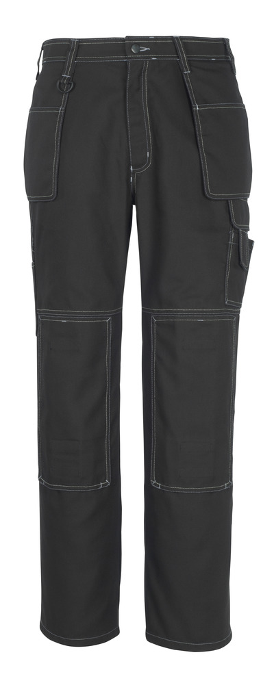 MACMICHAEL® Valera - black* - Trousers with kneepad pockets and holster pockets