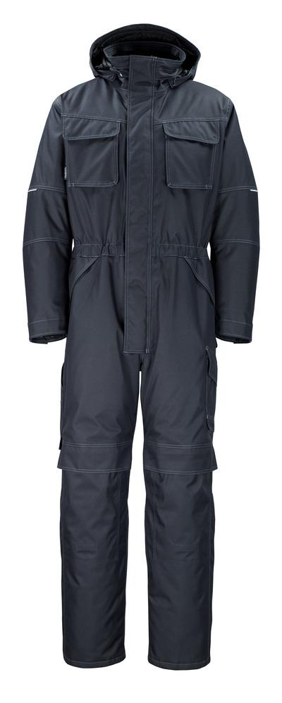 MASCOT® Ventura - dark navy - Winter Boilersuit with pile lining, waterproof
