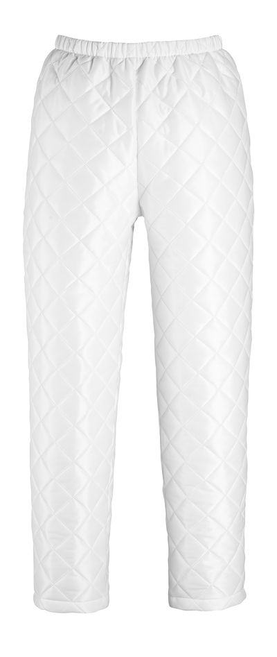 MASCOT® Winnipeg - white - Thermal Trousers with press stud adjustment at foot